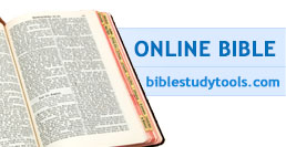 Online Bible Ad