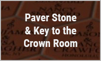 Paver Stone and Key to the Crown Room